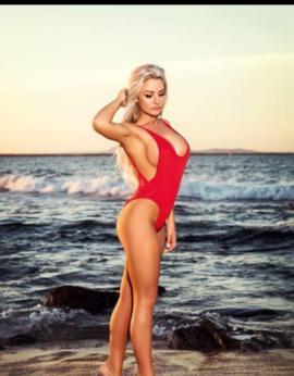 View Sexy Blonde Aussie, Brisbane Escort   Tel: 0423357930